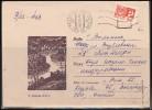 RUSSIA USSR Stationery USSR LV Be Zenklo 050 LATVIA  Postal History Gauja River RIGA Machine Cancellation - 1923-1991 URSS