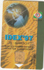 """U.A.E.(chip) - IDEX """"97(World""""s Premier Defence Exhibition & Conference), Globe And Sand, Used - Armée"""