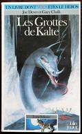 LDVELH - LOUP SOLITAIRE - 3 - Les Grottes De Kalte - BE - Group Games, Parlour Games