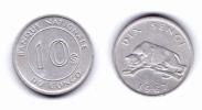 Congo 10 Sengis 1967 - Congo (Democratic Republic 1964-70)