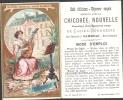 Chromo Doré - Chicorée Nouvelle Casiez Bourgeois - ARTS -  La MUSIQUE - Trade Cards