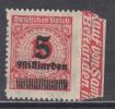 1923   MICHEL  Nº  334 B P   / ** / - Allemagne