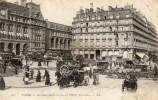 CPA - PARIS  8é  Gare St Lazare -  Diligences à Impériale  Gare St Lazare -  Gare De Lyon - Place Wagram - Bastille  - - Cartoline