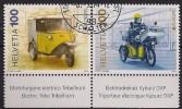 2013 Schweiz Mi. 2392-3  Used . Europa: Postfahrzeuge. - Schweiz