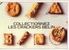 Z34/ FICHE PUBLICITE  FORMAT CPSM / CP - 1982 BELIN LES CRACKERS   ETAT NEUF - Publicités