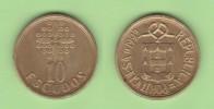 PORTUGAL  (República)  10 Escudos 1.992 Niquel-Latón  KM#633  MBC/VF    DL-11.400 - Portugal