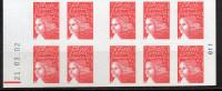 2/ France : Carnet 3419 C5b Phosphore Décalé  Neuf XX Cote 75 € , Disperse Trés Grosse Collection ! - Usage Courant