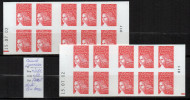 2/ France : Carnet 3419 C7 Faux Jumeaux Avec RE Droit Et Gauche  Neuf XX  , Disperse Trés Grosse Collection ! - Carnets