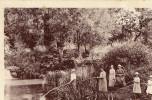 Cpa DORENGT La Chute D'eau Animee Ecrite - Autres Communes