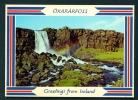 ICELAND  -  Oxararfoss  Unused Postcard As Scan - Islanda