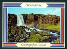 ICELAND  -  Oxararfoss  Unused Postcard As Scan - Iceland