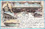 SISAK - LITHO ( Croatia ) * Travelled 1898. To Gornji Muc  * Litography - Kroatië