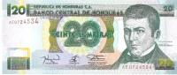 Honduras - Pick 73c - 20 Lempiras 1994 - Unc - Honduras