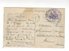 Guerre 14-18, Cachet Train Sanitaire P. L. M. 20 Bis ( Au Verso, Tampon 1915 - Cp Saint-Girons )