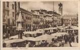 CPA - VERONE - PIAZZA ERBE (Marché) - Editions Almave - Verona