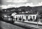 Locomotiva Diesel FS D.342-4002 A Piazza Al Serchio (Garfagnana) RIPRODUZIONE - Trenes