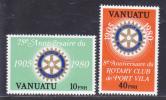 VANUATU N°  609 & 610 ** MNH Neufs Sans Charnière, Légende Française, TB  (D669) - Vanuatu (1980-...)