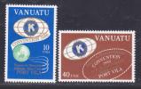 VANUATU N°  613 & 614 ** MNH Neufs Sans Charnière, Légende Française, TB  (D670) - Vanuatu (1980-...)