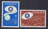 VANUATU N°  615 & 616 ** MNH Neufs Sans Charnière, Légende Anglaise, TB  (D672) - Vanuatu (1980-...)