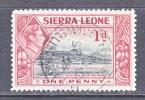 SIERRA  LEONE  174    (o) - Sierra Leone (...-1960)