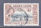 SIERRA  LEONE  178    (o) - Sierra Leone (...-1960)