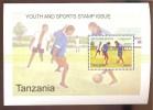 TANZANIA ; SCOTT # 2548-F ; IGPC 0914 S ; MINT N H STAMPS ( YOUTH & SPORT - Tanzania (1964-...)