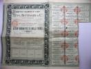 1910  Action Nominative Comptoir D´escompte De Nancy Lévy, Bettinger & Cie - Banque & Assurance