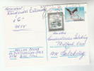 1991 AUSTRIA 50g Stamps On UPRATED 4s STORK Postal STATIONERY CARD Birds Bird Stamps Cover - Stamped Stationery