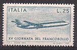 ITALIA 1973 GIORNATA DEL FRANCOBOLLO SASS. 1239 MNH XF - 6. 1946-.. República