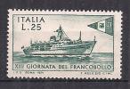 ITALIA 1971 GIORNATA DEL FRANCOBOLLO SASS. 1163 MNH XF - 6. 1946-.. República
