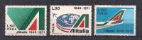 ITALIA 1971 ALITALIA SASS. 1155-1157 MNH XF - 6. 1946-.. Repubblica