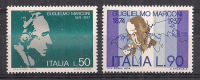 ITALIA 1974 G.MARCONI SASS. 1245-1246 MNH XF - 6. 1946-.. República