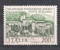 ITALIA 1980  MONASTERO DI FONTE AVELLANA SASS. 1503 MLH VF - 6. 1946-.. República