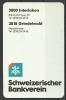 Switzerland, Schweizerischer Bankverein,Interlaken And Grindelwald, 1991-1992. - Calendari