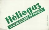 """Buvard Héliogaz """"Le Bon Butane De France"""" - Electricité & Gaz"""