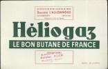 Buvard Héliogaz - Concessionnaire Société L'Allobroge à Chambéry(73) Dépositaire Antoine Roch à Cluses (74) - Electricité & Gaz