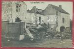 Louveign� 1914 - Destructions - Carte photo, document unique  - Feldpost 1914 ( voir verso )