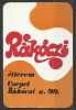 """Hungary, Csepel, """"Rákóczi"""" Restaurant, 1976. - Calendriers"""