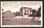 CPA Bidart, Monument Aux Morts Et Le Fronton - Bidart