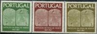 PT0280 Portugal 1967 Abolish The Death Penalties Of Legal Documents 3v MNH - 1910-... República