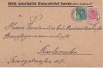 ALLEMAGNE 1918 LETTRE DE OBERPRECHTHAL - Covers & Documents