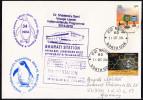 ANTARCTIC,INDIA, 34. EXPEDITION, BHARATI+ MAITRI 31.12.2014, 7 Cachets , Look Scan !! 22.10-09 - Antarctische Expedities