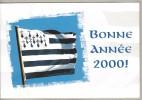 BONNE ANNEE 2000 DRAPEAU BRETAGNE - Nouvel An