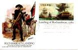 USA. Carte Avec Oblitération 1er Jour De 1980. Rochambeau. - Us Independence