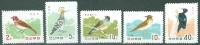 North Korea 1966 Birds MNH** - Lot. 3863 - Korea, North