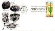USA. N°1371 De 1981 Sur Enveloppe 1er Jour. Cactus. - Sukkulenten