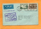 Australia To New Zealand 1934 First Official Air Mail Cover - Storia Postale