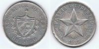 CUBA PESO 1933 PLATA SILVER Wa - Cuba