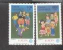 CEPT Türkei 2854-2855 Kinderspiele MNH ** Postfrisch - 1989
