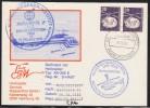 "ANTARCTIC,GERMANY, Heli-Flight FS ""POLARSTERN"" To DRESCHER-Station 3 Cachets, Look Scan !! 22.10-20 - Antarctic Expeditions"